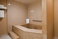 Jetted Tub in Bathroom